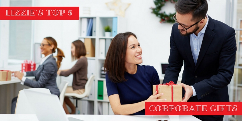 Lizzie's Top 5 Corporate Holiday Gift Ideas